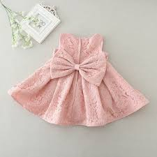 wholesale newborn baby dresses with cap back bow