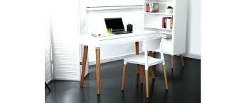 bureau blanc pas cher bureau blanc et bois variacs info