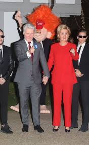 katy perry goes incognito as hillary clinton while beau orlando