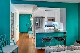 cuisine turquoise exceptionnel quelle couleur avec une cuisine blanche 14 une