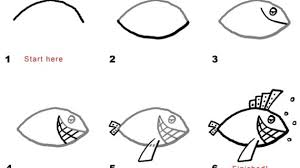easy fish drawing best photos of simple fish pattern fish cut out