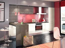 idee cuisine americaine idee amenagement cuisine ouverte sur salon avec deco petit salon