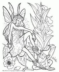 pix u003e printable coloring pages adults fairies coloring