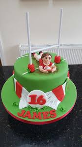 rugby cake love this idea just wish i was talented enough to