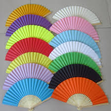 wedding paper fans aliexpress buy summer paper fans pocket folding