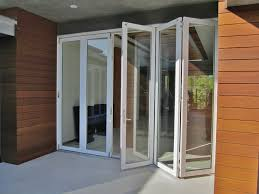 Accordion Glass Patio Doors Cost Folding Patio Doors Look Great In Your Home The Home Redesign