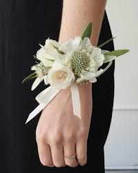 wrist corsage wylde flowers