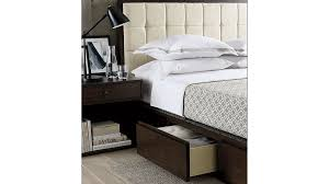 Crate And Barrel Headboard Hayden King Storage Bed Crate And Barrel