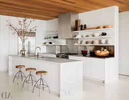 kitchenshelves com modern open kitchen shelves round leather barstools nickel single