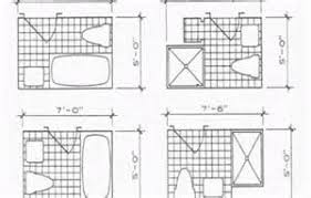 5x8 Bathroom Layout by 5x8 Bathroom Design Blueprint Tsc