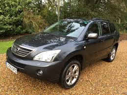 lexus suv for sale uk used lexus rx 400h 400h se l cvt grey 3 3 estate ashtead