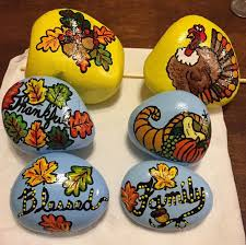 21 best thanksgiving painted rocks images on rock