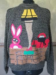 sweater leg l a story ships