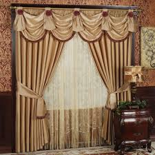 shabby chic valances brown raffle valances for living room windows combined with white