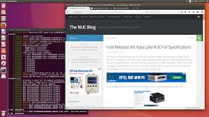 the i3 kaby lake nuc review nuc7i3bnh u2013 linux htpc conclusions