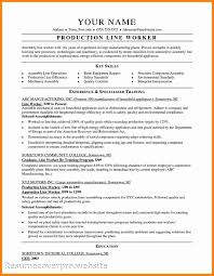 Resume Sample Job Objective by Template Template Blank Electronic Assembly Job Description