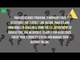 how do you apply for food stamps in michigan youtube