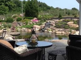 pond construction installation service rochester new york ny