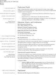 download teacher resume cv for free tidyform