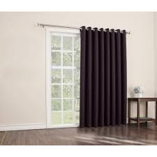 Curtains For Wide Windows by Sun Zero Conrad Blackout Extra Wide Patio Panel Walmart Com