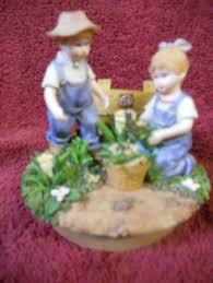 home interior denim days figurines home interior homco denim days figurines 1985 retired by