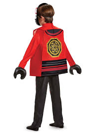 ninjago movie kai deluxe costume for boys