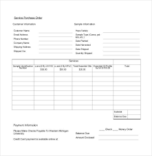 purchase order template 36 free word excel pdf documents