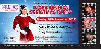 flicks reunion christmas party air and breathe dartford sun