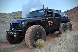 hauk camaro buhar gücüyle çalışan 6x6 jeep jk loco hauk teknolsun