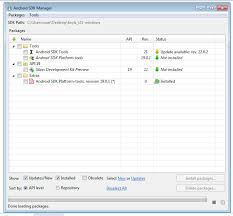 android sdk platform tools android eclipse sdk manager not installing sdk platform tools