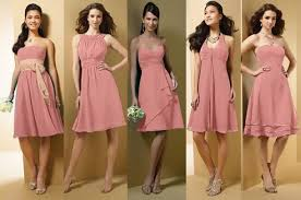 bridal party dresses non matching bridesmaids dresses anyone do this weddingbee