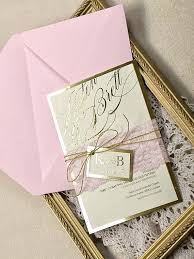 pink and gold wedding invitations gold and blush wedding invitations zoolook me
