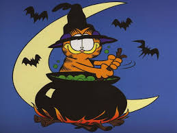 halloween desktops garfield wallpaper wallpapers browse
