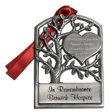 memorial ornaments personalized pewter