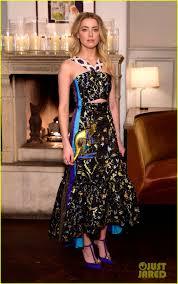 Heard Amber Heard Joins Golden Globe Nom Mandy Moore At W Mag U0027s It