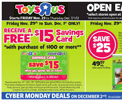 toys r us canada black friday flyer sale deals 2013 canadian
