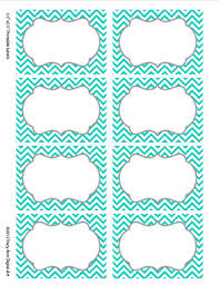 turquoise chevron labels print your own by tracyanndigitalart 5 00