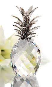 reduced glass pineapple box crystal and brass pineapple box 3