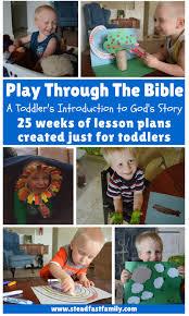 david and goliath play through the bible toddler bible study