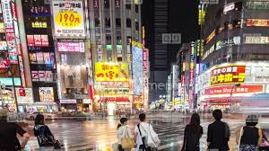 japan red light district tokyo 4k kabukicho nightlife tokyo red light district japan city stock