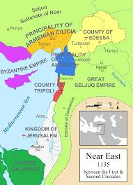Biblical Map Of The Middle East by Atlas Of Israel Wikimedia Commons