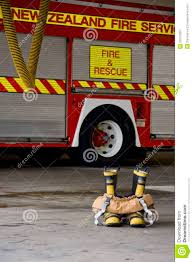 Firefighter Three Boots by Fire Boots And Pants Ready To Action Stock Photo Image 26512860