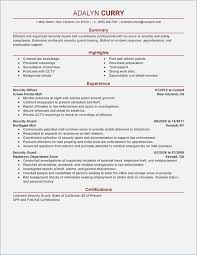 armed security job resume exles sle resume for armed security guard fluently me