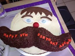 mustache birthday cake no disguising the deliciousness of these mustache cakes