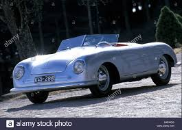 first porsche car porsche nr 1 convertible roadster silver model year 1948