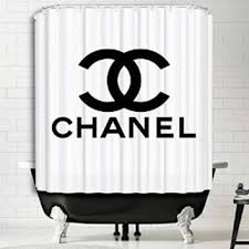 Shower Curtain Chemistry Chanel Shower Curtain Print Polyester From Amazon