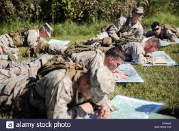 Camp Lejeune Map Marines With 2nd Battalion 8th Marine Regiment Plot Points On