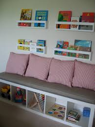 ikea kallax custom cushion for nursery playroom organization