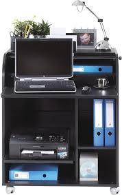 bureau secr騁aire informatique bureau secrétaire informatique à rideau design noir arobase bureau