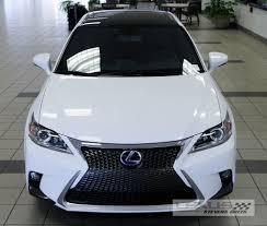 lexus ct200h f sport 2014 2013 tc front bumper conversion to 2014 lexus ct200h scionlife com